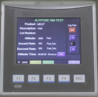 Altitude Simulation Test ASTM D6653 Using FPFA Fully Automatic Control
