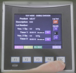 Bubble Test ASTM D3078 Using FPFA Fully Automatic Control c/w Data Acquisition